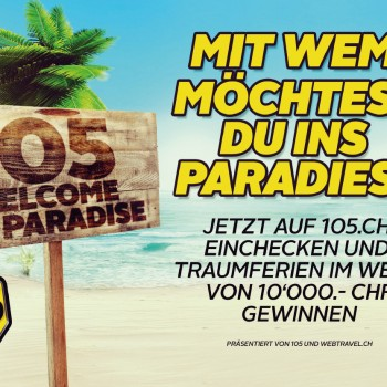 Radio 105 – Online Werbebanner Paradise