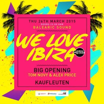 We Love Ibiza Kaufleuten Zürich