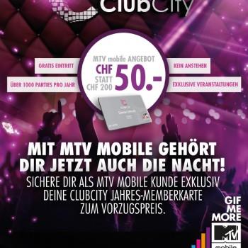 ClubCity Flyerdesign