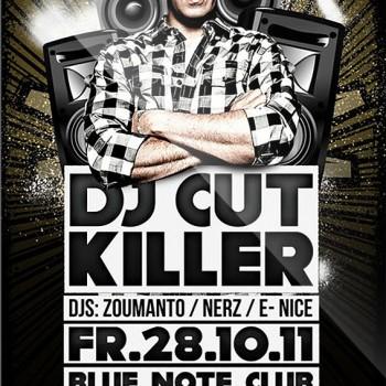 DJ Cut Killer Flyer