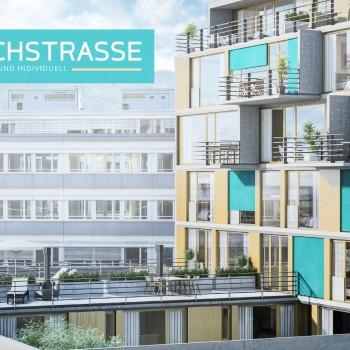 Eichstrasse Zürich – Immobilien Flyerdesign
