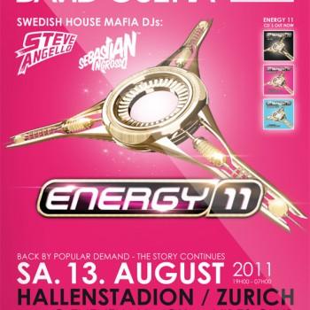 Energy Hallenstadion Zürich Flyer