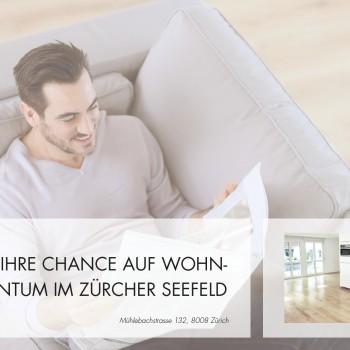 Seefeld Immobilie – Immobilien Flyerdesign