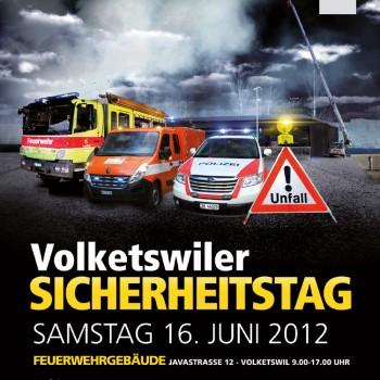 Volketswil Sicherheitstag – Flyerdesign