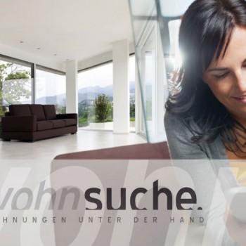 Wohnsuche.ch – Immobilien Flyerdesign